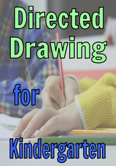 Free directed drawing videos included! Directed drawings are super fun for kindergarten students. Learn what they are, and why I love them.