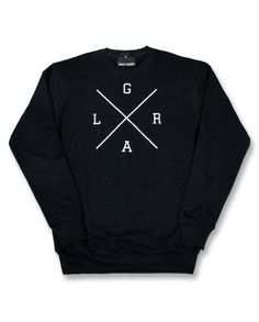Loose Riders Herren LRXGA Sweatshirt/Pullover.Tattoo,Biker,Rockabilly Style