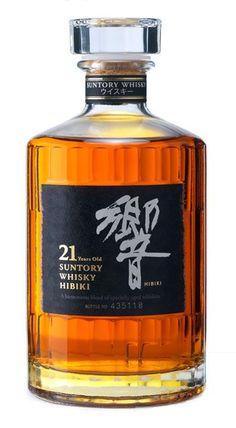 Suntory Hibiki 17 Year Old Japanese Whisky Cigars And Whiskey, Whiskey Drinks, Whiskey Bottle, Bourbon Cocktails, Scotch Whisky, Whisky Regal, Whisky Single Malt, Suntory Whisky, Wine Pairings