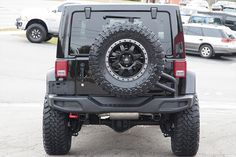 Like other Rubicon Hard Rock models, we expect this one to go quickly! This Jeep was already a top of the line model from the factory and we upgraded it even more. With a DualSport SC suspension from A Jeep Wrangler Rubicon, Jeep Wrangler Unlimited, Jeep Wranglers, Jeep Wheels, Jeep Wrangler Accessories, Black Jeep, Jeep Jl, Custom Jeep, Cool Jeeps
