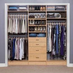31 Wonderful Closet Design Ideas For Your Home. Unique closet design ideas will definitely help you utilize your closet space appropriately. An ideal closet design is probably the  Spare Bedroom Closets, Wardrobe Design Bedroom, Wardrobe Closet, Master Closet, Bedroom Decor, Bedroom Furniture, Men Closet, Budget Bedroom, Best Wardrobe Designs