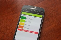 Add a battery bar on top of your Android screen with Energy Bar via @CNET