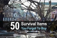 Even hardcore survivalists can overlook things. What did you overlook? Here are some survival items you might have forgotten to buy.