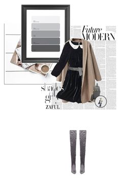 """""""Zaful 4"""" by sinsnottragedies ❤ liked on Polyvore featuring Dot & Bo, Madewell, Maison Boinet, Steve Madden and vintage"""