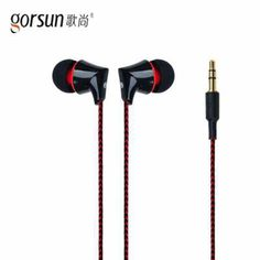 GORSUN GS-A340 In-Ear Stereo Noise Reduction Super Bass Braided wiring Sport Earbuds Portable Fully compatible for Smart Phone #Affiliate