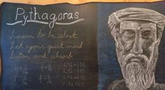 Beautiful chalkboard drawings of the main lesson are the focal point of any waldorf classroom.