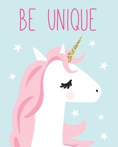 Ideas Wall Art For Kids Playroom Frames Unicorn Horse, Unicorn Art, Cute Unicorn, Rainbow Unicorn, Unicorn Poster, Happy Unicorn, Nursery Prints, Nursery Wall Art, Unicorn Pictures