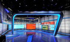 AV Design Services - Speed Channel: Speed Center Tv Set Design, Stage Design, Virtual Studio, Tv Sets, Exhibit Design, Studio Design, Design Services, New Set, Motogp
