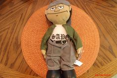 "NEW HOMIES ""SAPA"" PLUSH DOLL STUFFED TOY 13"" Lowrider La Raza Chicano#Sapo"