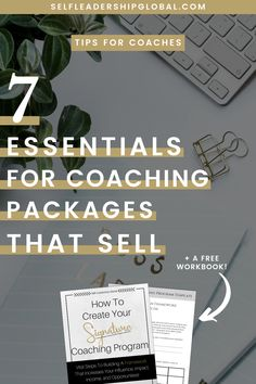 life coaching tools 7 Essentials for Coaching Packages That Make Money for Your Business Business Branding, Business Tips, Online Business, Business Coaching, Business Motivation, Business Marketing, Content Marketing, Life Coaching Tools, Online Coaching