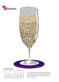 Examples of Inspirational Text Art - DesignM. Art Design, Creative Design, Pop Art, Inspirational Text, Virgin Atlantic, My Bubbles, Love Text, Branding, Typography Art