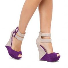 Brinley Co Open Toe Ankle Strap Wedges $29.99