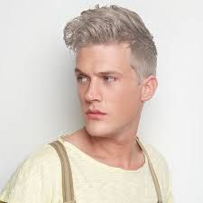dyed silver hair men - Google Search