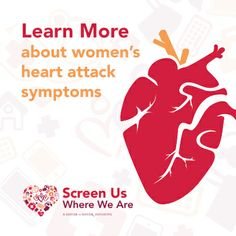 Myth: Heart attack symptoms are the same in women as they are in men. Learn the facts and demand heart screenings here: http://sistertosister.org/