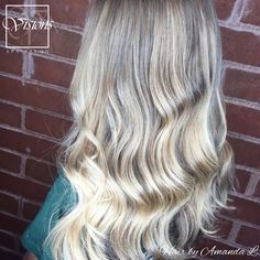 •SUNKISSED☀️S A T U R D A Y•  Beautiful ✨B A L A Y✨ by our stylist Amanda L.  . . . . . . . . #sunlightsbalayage #balayage #thebalaybox #hairpainting #paintedhair #hairinspo #thebalaylama #thebalaylamason #modernsalon #salontoday #salon #balayagehighlights #balaystrong #behindthechair #balayageartists #visionsspasalon #salonandspa #novi #michigansalon #beautifulhair #haircut #frenchcut #hairstyle #haircolor #blonde #blondebalayage #summerhair #beachwaves #sunkissedbalayage #salonsaturday