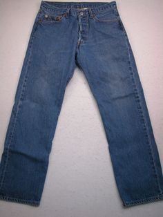 Mens Distressed American Eagle Loose Fit Jeans 29 x 30 (Measures ...