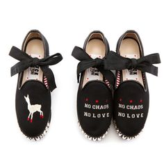 Lonely shoes X STEVE J & YONI P stud platform black (GATH313_39)