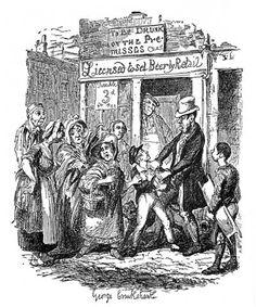 George Cruikshank : Oliver Twist