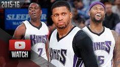 Darren Collison - Rudy Gay - DeMarcus Cousins - Sacramento Kings