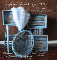 cute idea to take one of those wicker laundry baskets from WM and spray paint it for baby photo prop.