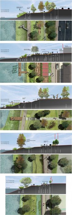 43 Ideas For Urban Landscape Architecture Masterplan Plans Architecture, Landscape Architecture Drawing, Landscape Drawings, Cool Landscapes, Architecture Diagrams, Architecture Office, Architecture Portfolio, Masterplan Architecture, Barcelona Architecture