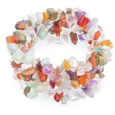 gem stone chip jewellery - Google Search