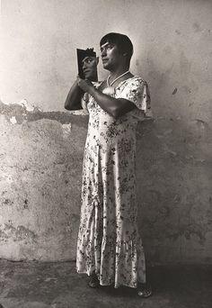 Graciela Iturbide  Mexican (Mexico City, Mexico, 1942)  Muxe  Magnolia, Juchitán, Oaxaca, México 1986 photograph | gelatin silver print  Source: http://www.sfmoma.org/explore/collection/artwork/7640#ixzz31F0pnl6M  San Francisco Museum of Modern Art
