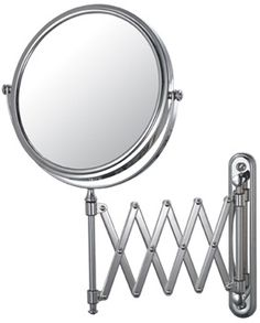 233 Series 5x 1x Reversible Pantograph Extension Wall Mount Makeup Mirror