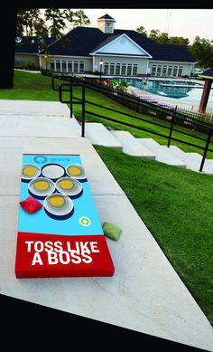 Cornhole Design Ideas finishing cornhole boards Find This Pin And More On Diy
