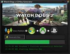 watch dogs activation key generator
