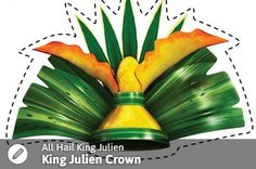 All Hail King Julien Twitter Party King Julien Crown!   SKGaleana