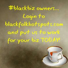 #blackbiz owners... Login to bfhsnetwork.com/main/authorization/signUp?target=http%3A%2F%2Fbfhsnetwork.com%2F%3Fxgi%3D24eplpCFYfYmqZ%26xgkc%3D1&utm_content=buffer401a5&utm_medium=social&utm_source=pinterest.com&utm_campaign=buffer and put us to work for your biz TODAY!  #blackbusiness #urbanevents #supportblackbusiness #blackwallstreet #teamBFHS #powernomics #supportblackbiz #sbbtv #notonedime #blackfriday  Tag a black business owner that we should follow today.