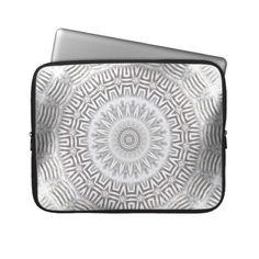 METAL Element Kaleido Pattern Laptop Computer Sleeves from TheElementalHome* - $31.35