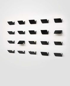 "nicoonmars: "" CHARLOTTE PERRIAND, Set of 20 wall lights, ca. 1967 """