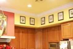 Modest Kitchen Soffit Decorating Ideas Model