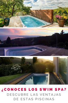 Descubre las ventajas de un Swim Spa frente a las piscinas tradicionales. Piscinas con sistema contracorriente. Piscinas climatizadas. #piscinas #swimspa #estiloydeco #piscinascompactas #piscinasdelujo