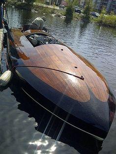 beautiful boat, hydroplane