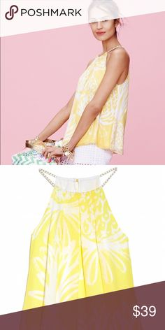 Lilly Pulitzer for target pineapple tank nwt Never worn Lilly Pulitzer Tops
