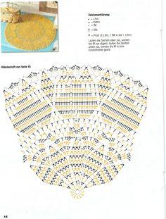 The Diva and Family Corner Crochet Mat, Crochet Dollies, Crochet Home, Thread Crochet, Crochet Patterns Filet, Crochet Doily Diagram, Doily Patterns, Crochet Table Runner, Crochet Tablecloth