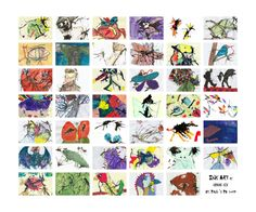 Grade 6 Ink Creatures 2013 by Donna Campbell