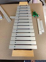"""""""The Mountain Story"""": good story for teaching the top and bottom (high & low) of Orff barred instruments"""
