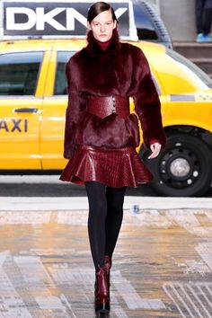 DKNY Fall 2012 Ready-to-Wear Collection Slideshow on Style.com