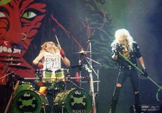 Bret and Rikki rockin' out with their awesome Poison songs!