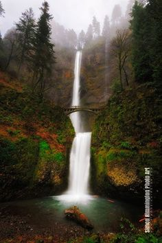 Multnomah Falls by Simon Rimmington via 500px..... Relax with this nature photo. #Relax more with this #free #music with #BinauralBeats that can #heal you. #landscaping #LandscapingIdeas #landscapeDesign