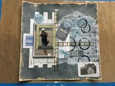 Are You Happy, Mixed Media, Scrapbooking, In This Moment, Boys, Cover, Cards, Baby Boys, Maps