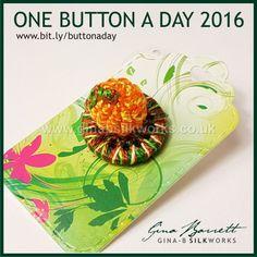 Day 299: Pumpkin #onebuttonaday by Gina Barrett