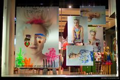 TOPSHOP's August 2012 window displays: Louise Gray | Boy Meets Fashion – the style blog for men and women