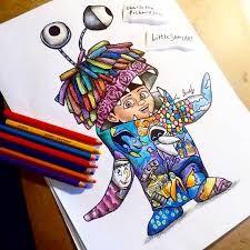 """Suchergebnisse für """"little sams art"""" Cute Disney Drawings, Disney Sketches, Cute Drawings, Art Sketches, Cartoon Cartoon, Cartoon Drawings, Tattoo Diy, Pinturas Disney, Tattoo Style"""