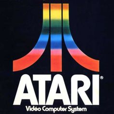 Atari, Inc. was founded in 1972 in New York City, U. by Nolan Bushnell and Ted Dabney, as a pioneer in arcade games, video games and computers. Video Game Logos, Atari Video Games, Retro Video Games, 80s Logo, Retro Logos, Retro Typography, Vintage Logos, Vintage Ads, Games
