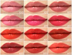 New NYC New York Color Get It All Lip Color Lipstick - swatches of all shades Best Lipstick Color, Red Lipstick Makeup, Lipstick For Fair Skin, Lipstick Dupes, How To Apply Lipstick, Best Lipsticks, Lipstick Swatches, Lipstick Shades, Makeup